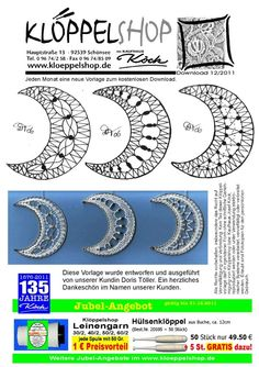 Web Pics and Patterns - Blanca Torres - Picasa-Webalben Bobbin Lace Patterns, Weaving Patterns, Web Pics, Bobbin Lacemaking, Lace Heart, Point Lace, Lace Jewelry, Needle Lace, Casual Tops For Women