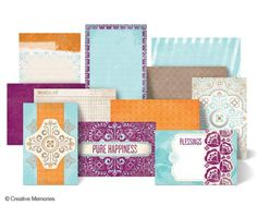 Vintage Chic Mat Pack from Creative Memories