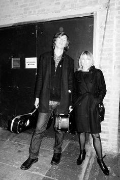 Kim Gordon and Thurston Moore Kim Gordon, Marc Bolan, Soundtrack To My Life, Sound & Vision, Brown To Blonde, Working Class, Black N White, Mixtape, Punk Rock