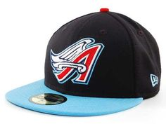 Los Angeles Angels of Anaheim New Era MLB Cooperstown 59FIFTY Hats [for Baird]