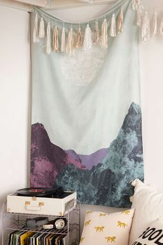 Ricky Meehan Rocky Mountain Tapestry - Urban Outfitters