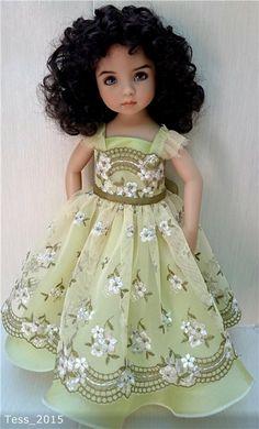 Dianna Effner -Кругом пестреет мир зеленый... мой нежный цветок Эмили от Дианны Эффнер / Другие коллекционные куклы / Бэйбики. Куклы фото. Одежда для кукол
