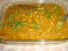 Chana Dal with Kaddu 4 Ingredients, Lentils, Curry, Pumpkin, Cooking, Ethnic Recipes, Greek, Food, Kitchens