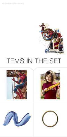 """""""battle of the gender swap avengers audish"""" by birdy3000 ❤ liked on Polyvore featuring art and BOTGSAaudition"""