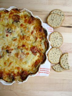 White Pizza Dip - This is essential summer food