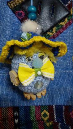 Crochet Key Chain Key Chain Ornament Bacpacke by HandMadebyNomi