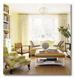 coastal living via decor pad yellow-green-web