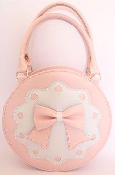 ea83eb55ae22 7 Colors Lolita Bowknot Round Cylinder PU Hand Bag SP140345. Kawaii FashionLolita  FashionCute FashionFashion BagsBow PurseCute ...