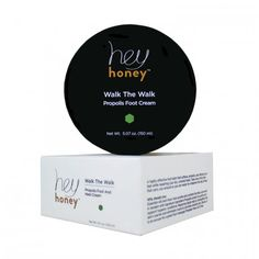 Hey Honey Walk The Walk Propolis Foot Cream in sample size.