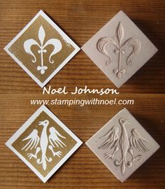 Hand Carved Stamps by Noel Johnson