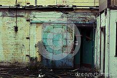 Abandoned factory - door