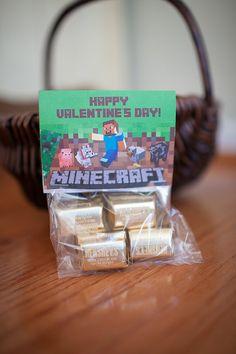 Minecraft Inspired BIRTHDAY / Valentine's Day Photo by zoeyluna, $7.00