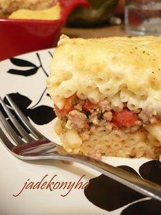 Jade konyhája: Pastitsio - görög rakott tészta