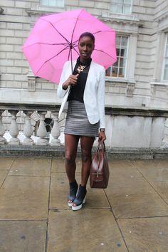 London Street Style: Dress London