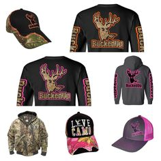 Everything you see here and more available at BuckedUpApparel.com #getbuckedup #buckedup