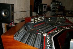 EMI TG Mixing Console - look at those deathstar-esque faders!