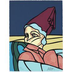 Valerio Adami: Zeefdruk, Une reconquête moderne de l'espace classique III verkocht! Spiderman, Van, Superhero, Fictional Characters, Design, Classic, Outer Space, Paper, Fine Art Gallery