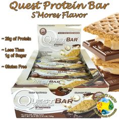 Quest Protein Bar S'Mores Flavor