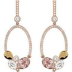 Swarovski Branch Pierced Earrings  $150