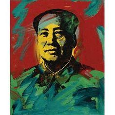 """""""Mao"""" / Andy Warhol (1928-1987)"""