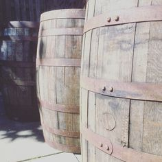 Rustic Whisky Barrels available for Hire.