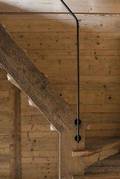 scala in larice vecchio