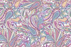 Paisley patterns by Juliett Illustration on Creative Market
