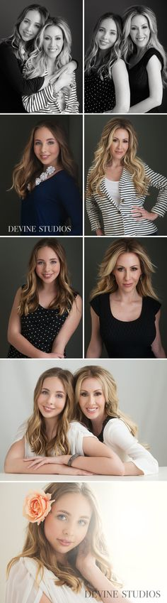 We got to photograph these two beautiful ladies... Corey and her 13 year old daughter Mia!  I did the hair and makeup so they looked their absolute best and of course it didn't take much. :)  This was like a coming of age present to her daughter who had just turned 13.  She is becoming such a…