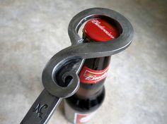 BOTTLE OPENER Hand Forged and Signed by BLACKSMITH Naz   * I want to make these *