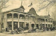 Roswell New Mexico 1911 New Gilkeson Hotel Antique Advertising Vintage Postcard Roswell New Mexico NM 1911 New Gilkeson Hotel with three great automobiles out front. Used Albertype antique vintage adv New Mexico History, City Information, Roswell New Mexico, New Mexican, Land Of Enchantment, Mexico City, Amazing Architecture, Vintage Postcards, See Photo