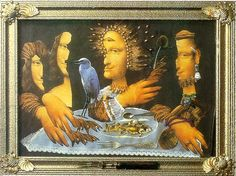 THE LAST SUPPER Collage, 1988
