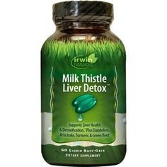 Irwin Naturals Milk Thistle Liver Detox plus BioPerine Softgels, 60CT (with Photos, Prices & Reviews)