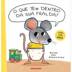LivroErrante: O Que Tem Dentro de Sua Fralda? (Melhores livros infantis de 2011) - livro que estou usando no desfralde da Thelminha