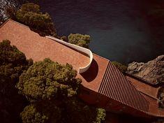 Villa Malaparte in Capri, Italy, by Curzio Malaparte / Adalberto Libera, 1937