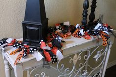 6 ft. Halloween Garland, Halloween Banner, Halloween Decor, Fall Decor
