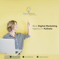 Digital Abhiyan is one of the best digital marketing agencies in kolkata Lead Generation, Kolkata, Digital Marketing, Good Things, Instagram