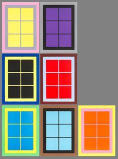 Windows - Ugo Rondinone original prints for sale