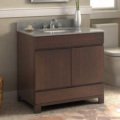"""Lanza Oxford 36"""" Single Bathroom Vanity Set"""