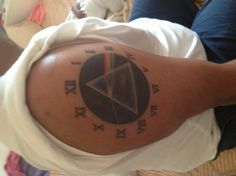 See you on the dark side of the moon! Album inspired pink Floyd tattoo
