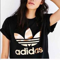 NWOT Black & Gold adidas shirt Brand new perfect condition, never worn or washed. Adidas Tops Tees - Short Sleeve