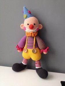 Clown 100% handmade śliczny na prezent (6189816401) - Allegro.pl - Więcej niż aukcje.