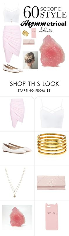 """Asymmetrical Skirts"" by marieoary ❤ liked on Polyvore featuring Boohoo, Charlotte Russe, Jimmy Choo, Kenneth Jay Lane, LC Lauren Conrad, Michael Kors, asymmetricskirts, 60secondstyle and plus size clothing"