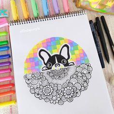 Mandala Art Lesson, Mandala Doodle, Mandala Artwork, Mandala Drawing, Doodle Art, Abstract Pencil Drawings, Sharpie Drawings, Sharpie Art, Dibujos Zentangle Art