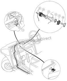 Wiring 36 Volt 36 volts golf cart Electric golf cart