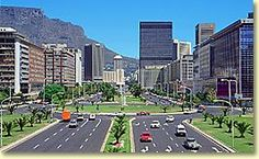 Adderley Street in Cape Town
