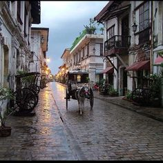 Vigan, Ilocos Sur, Philippines - best preserved example of a planned Spanish colonial town in Asia