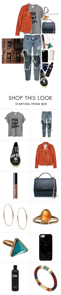 """Untitled #965"" by brooklynrebelle ❤ liked on Polyvore featuring Sincerely, Jules, OneTeaspoon, Kenzo, Givenchy, tarte, Michael Kors, From St Xavier, Casetify and Isabel Marant"