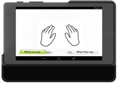 MotionSavvy Is A Tablet App That Understands Sign Language   Has Sign to Voice or Text capability   TechCrunch pinned by JLH