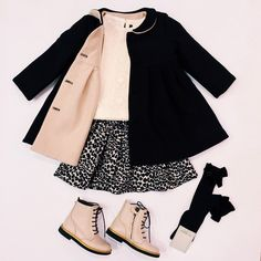 Bbk, Russie Source by Coat Fashion Kids, Little Girl Fashion, Toddler Girl Style, Toddler Girl Outfits, Children Outfits, Children Clothing, Baby Kind, My Baby Girl, Outfits Niños