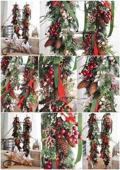 Christmas garlands for photo session , https://www.facebook.com/HandmadeByEncza